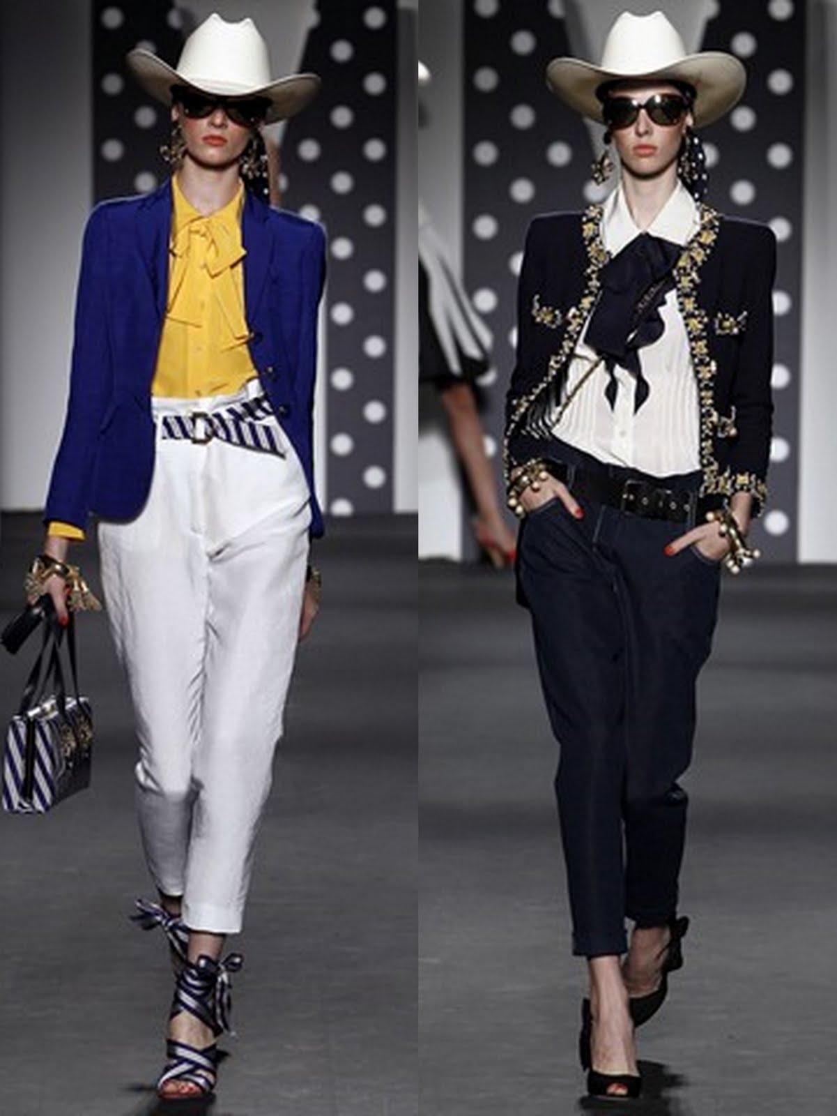 moschino ss 20118 Prolećni trend: kapri pantalone
