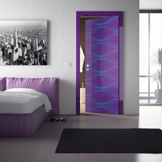 sensunels door collection by karim rashid for dibi group 1 Idealni dom Karima Rashida