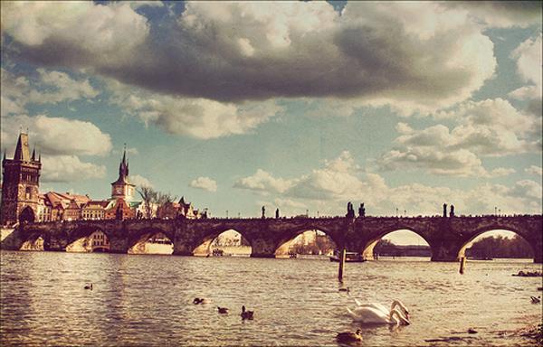 tumblr lq2y0st6bx1r1czqvo1 500 Najlepši mostovi sveta: Karlův most, Češka