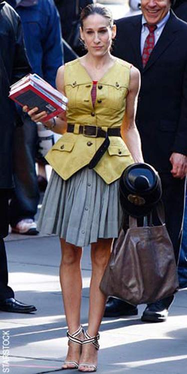 carrie bradshaw 81 Holivud kao inspiracija: poslovni stil