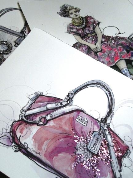 ketrin2 Modne ilustracije širom sveta