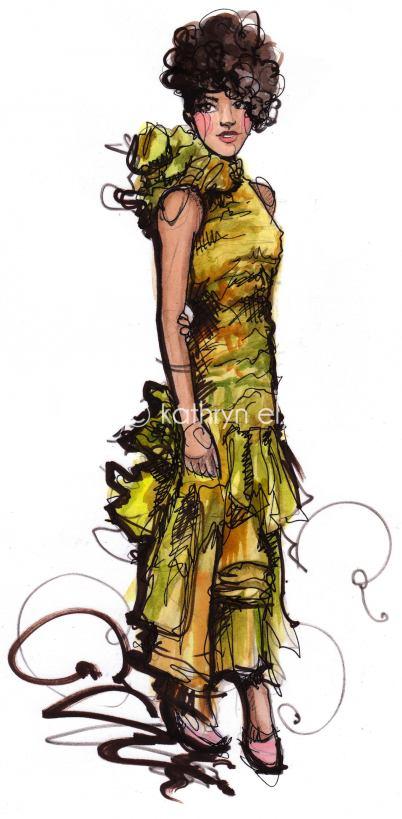 ketrin3 Modne ilustracije širom sveta