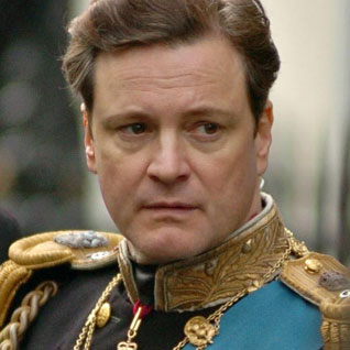 kings speech cover Colin Firth
