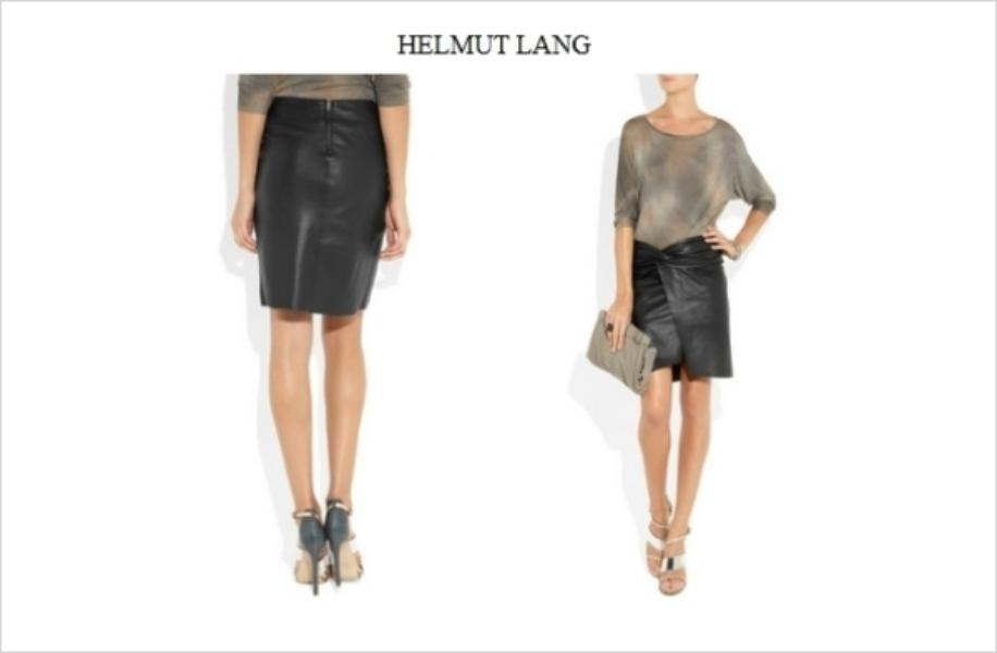 fsafa Jesenji trend: kožne suknje