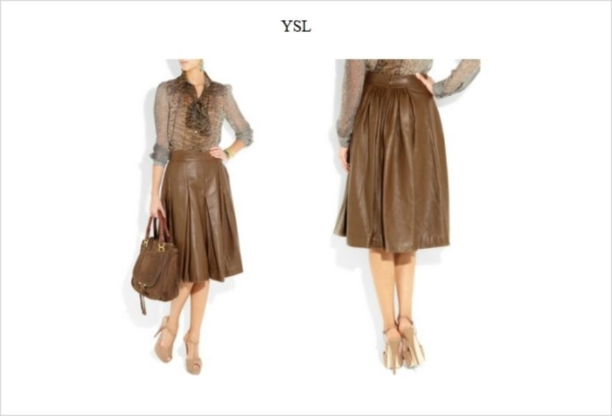 leather skirt fashion imperative fdasdfsa mozilla firefox Jesenji trend: kožne suknje