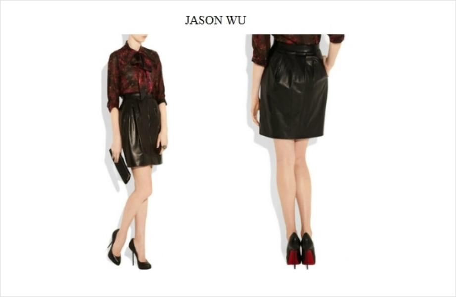 leather skirt fashion imperative mfasozilla firefox Jesenji trend: kožne suknje