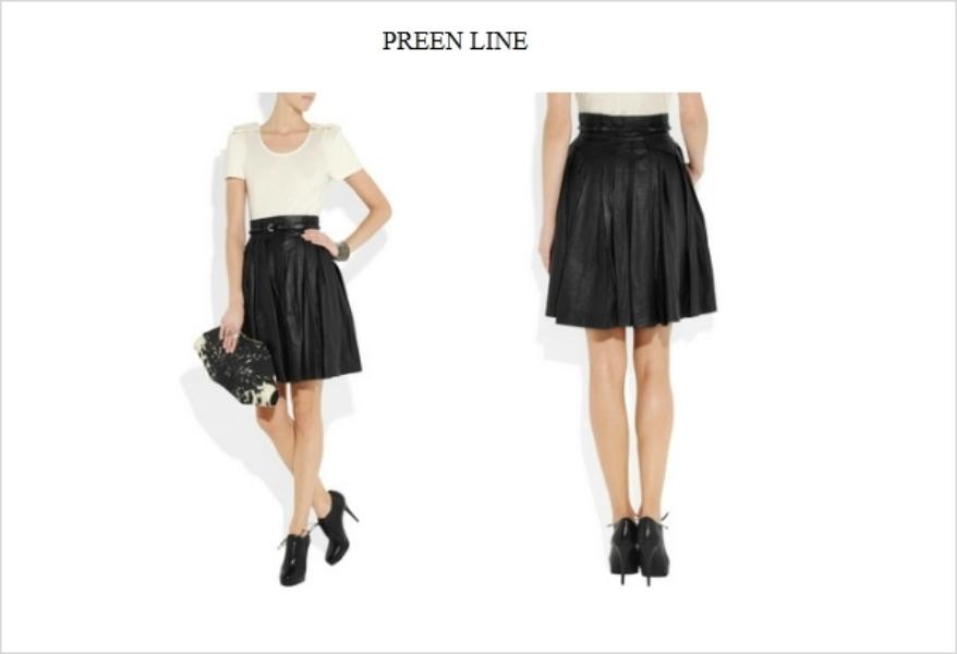 leather skirt fashion imperative mofdsazilla firefox Jesenji trend: kožne suknje