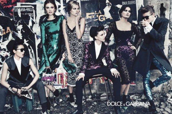 galerija kampanja1 La Moda Italiana: La Dolce & Gabbana vita