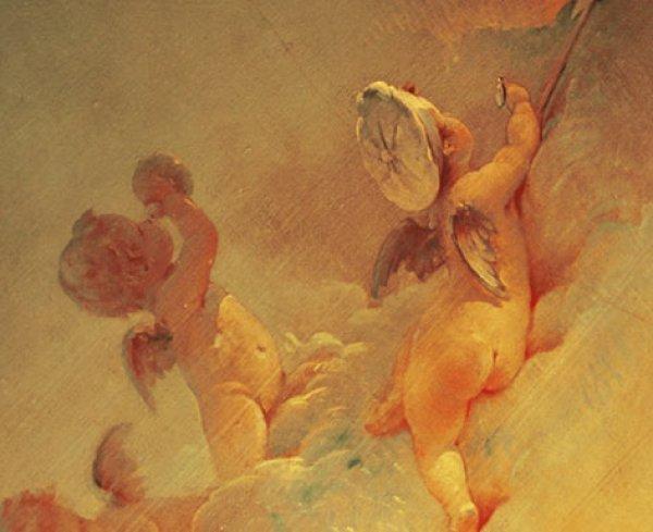 laduree royale cherubs I stil i ukus: Ladurée macaroon