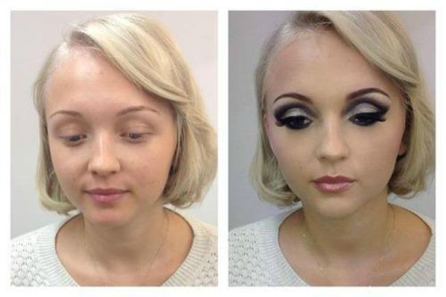 14 Make up preobražaji: Što šminka može, niko ne može