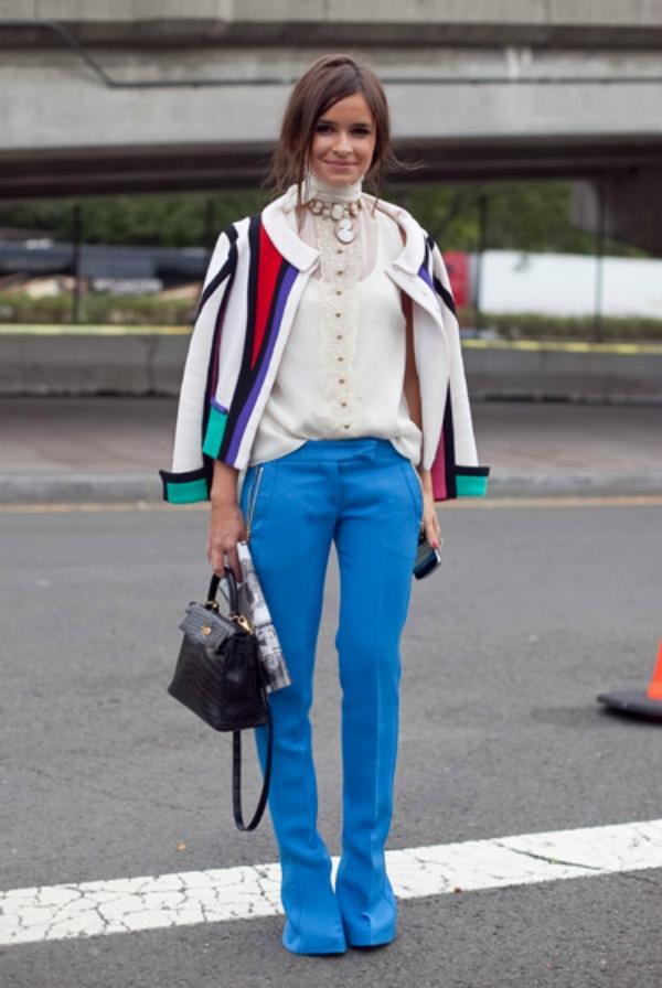 fashion week street style miroslava duma Street Style: Miroslava Duma