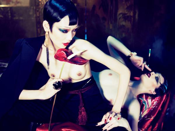 china girls by mert marcus for interview magazine march 2011 6 Mert & Marcus: Neodoljivi dvojac koji pomiče granice