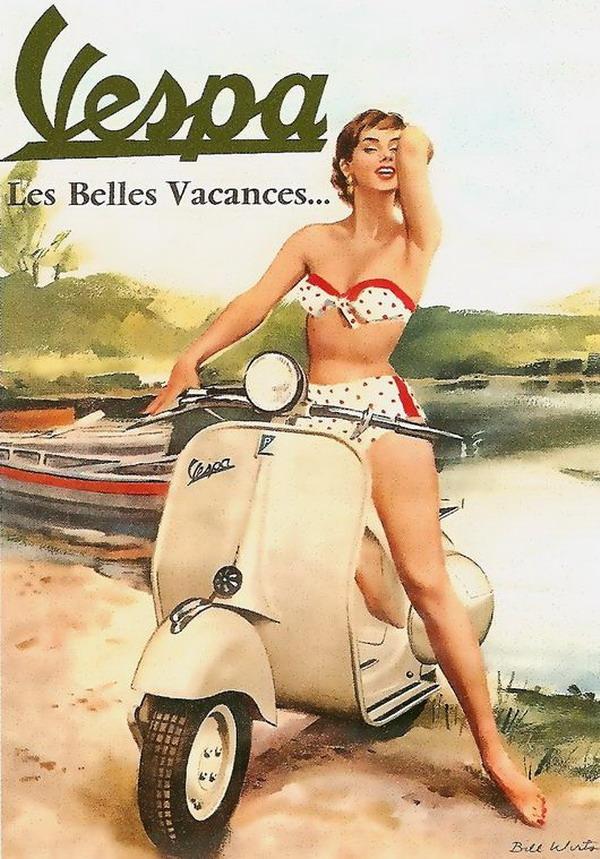 galerija reklama1 La Moda Italiana: Hajde da uzmemo neki dobar... motor!