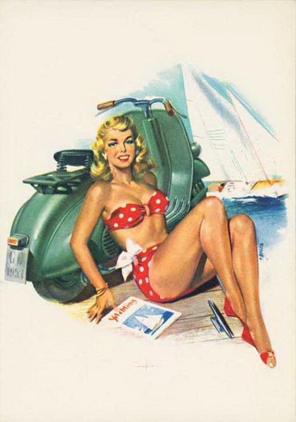 galerija reklama2 La Moda Italiana: Hajde da uzmemo neki dobar... motor!