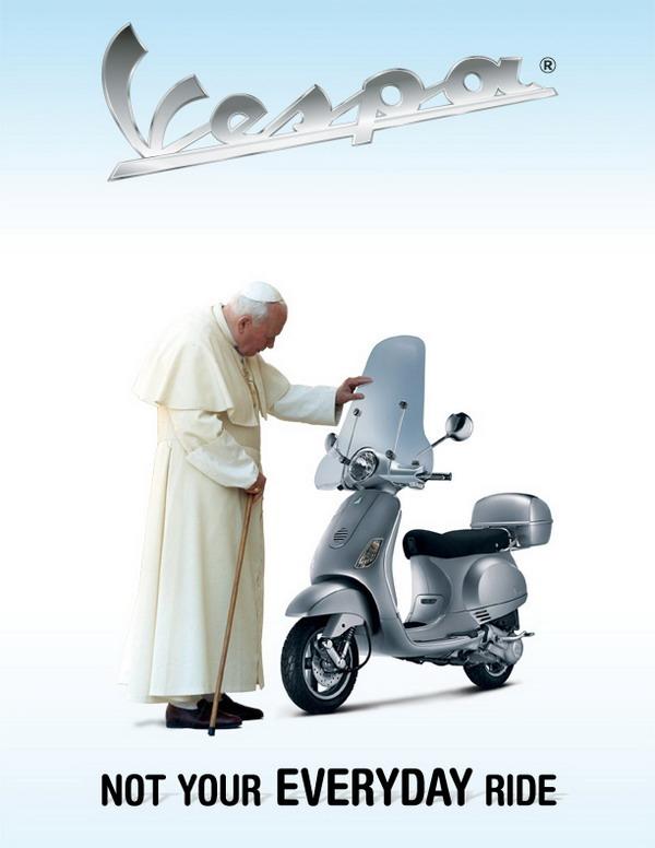 galerija reklama4 La Moda Italiana: Hajde da uzmemo neki dobar... motor!