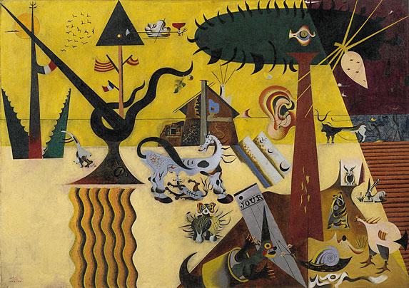 the tilled field Joan Miró   između jave i sna