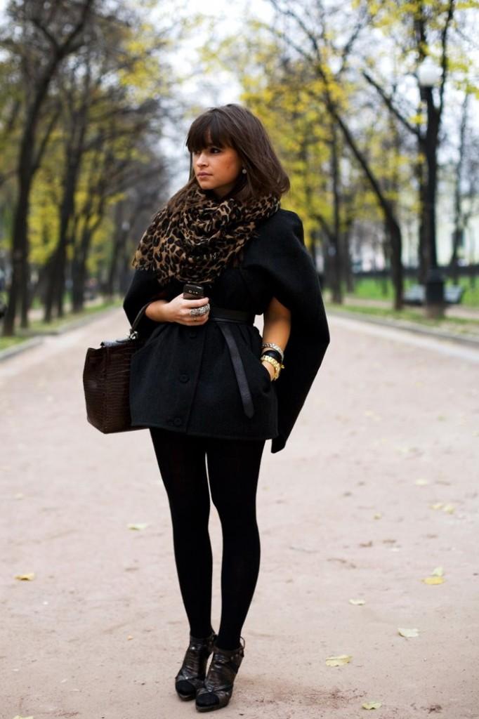miroslava duma scarf accessories 682x1024 Ikona stila: Miroslava Duma