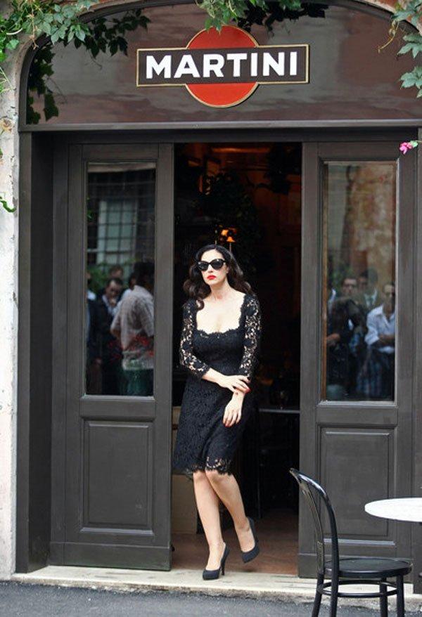 galerija model4 La Moda Italiana: Monica Bellucci