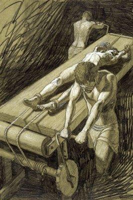 torturerack Muzej srednjovekovnih sprava za mučenje, Prag