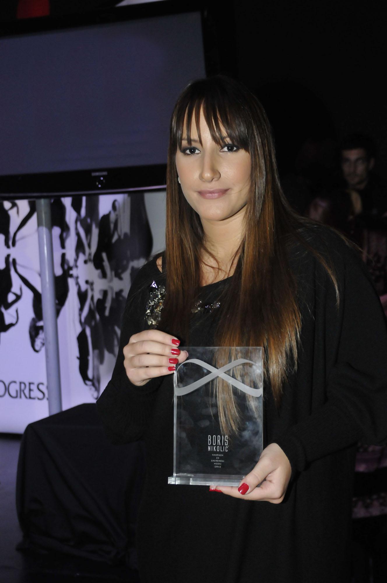 ljuba sikimic Nagrade 30. Beogradske nedelje mode