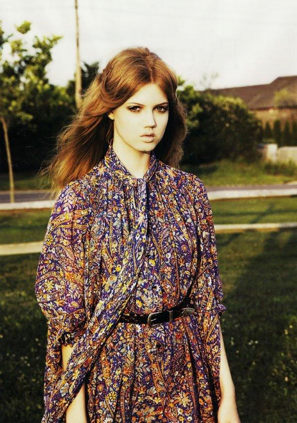 lula magazine 2009 Top 5 najmlađih manekenki koje osvajaju svetske modne piste
