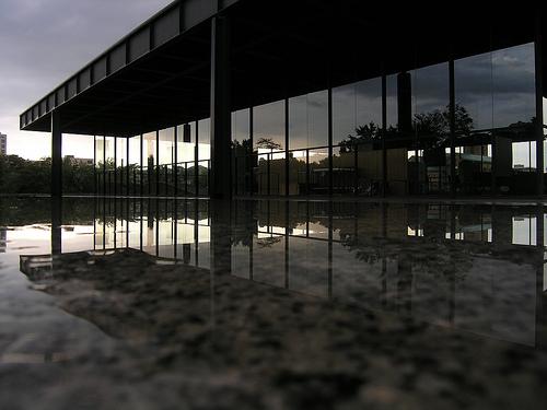 neue national galerie berlino Lokacija kao efektan aksesoar