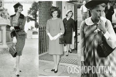 chanel 1950s New look: pedesete
