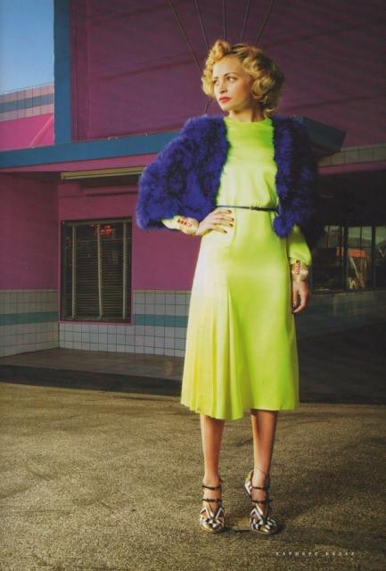 nicole richie harpers bazaar Nicole Richie za ruski Harper's Bazaar