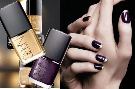 golden tip manicure thumb Drugačiji francuski manikir