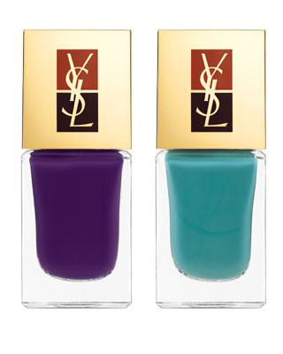 ysl rock baroque fall 2010 nail polish duo beautiful day ysl fall 2010 french manicure ysl rock and baroque makeup collection for fall 2010 Drugačiji francuski manikir