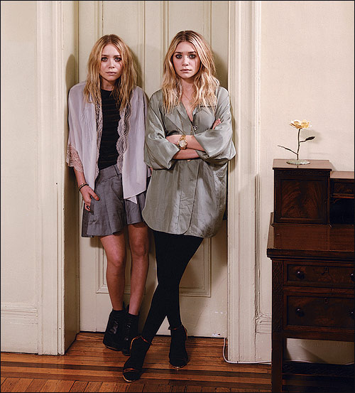 actu080306 Boho chic: Mary Kate and Ashley Olsen