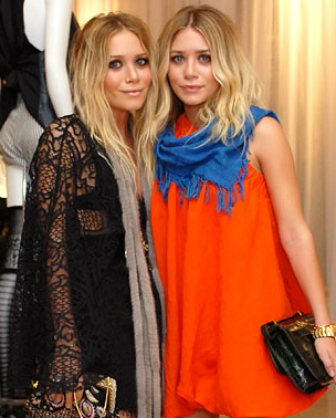mary kate and ashley olsen Boho chic: Mary Kate and Ashley Olsen