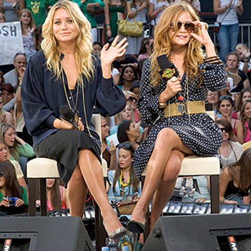 mary kate and ashley olsen 0 Boho chic: Mary Kate and Ashley Olsen
