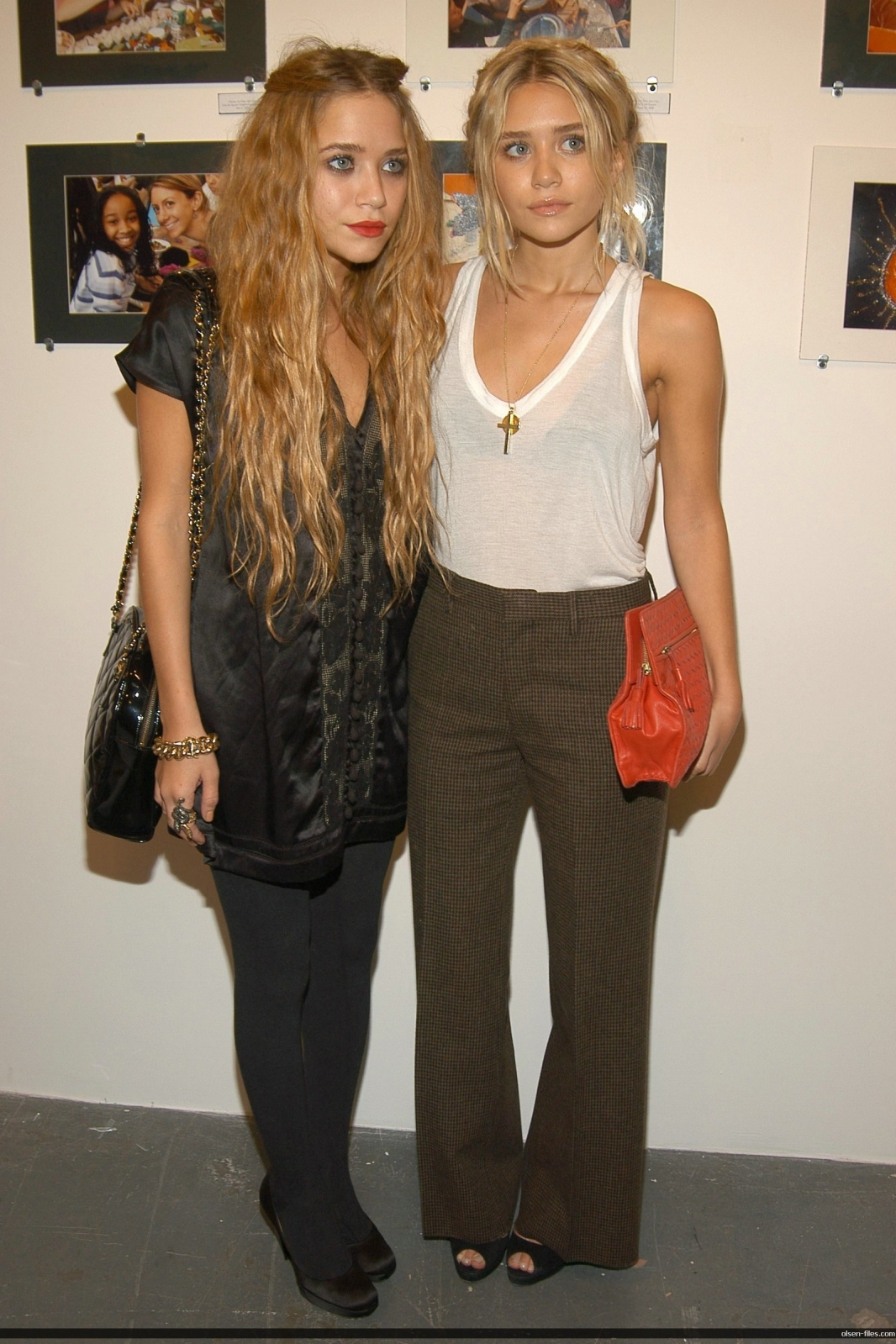 mary kate and ashly olsen Boho chic: Mary Kate and Ashley Olsen
