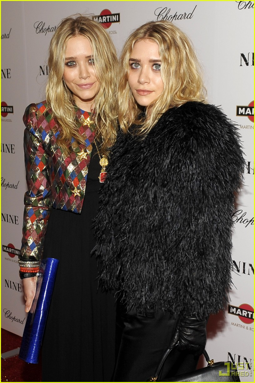 mary kate ashley olsen nine premiere 03 Boho chic: Mary Kate and Ashley Olsen