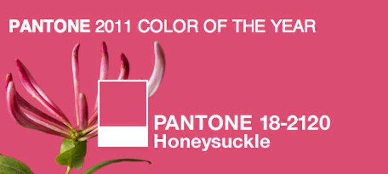 honeysuckle 0 Orlovi nokti   boja 2011. godine