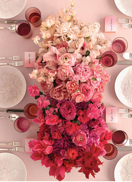 pink fade flowers rhonnadesigns Orlovi nokti   boja 2011. godine