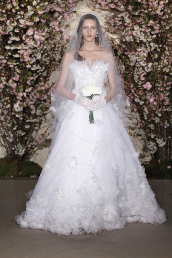 oscar de la renta spring 2012 bridal collection 13 picnik New York Bridal Week Spring 2012: Oscar de la Renta