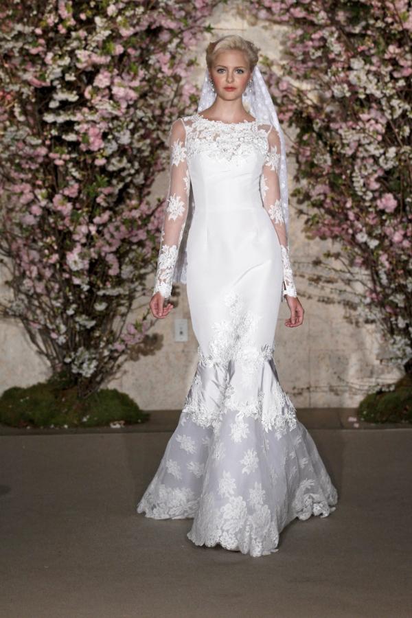 oscar de la renta spring 2012 bridal collection 22 picnik New York Bridal Week Spring 2012: Oscar de la Renta