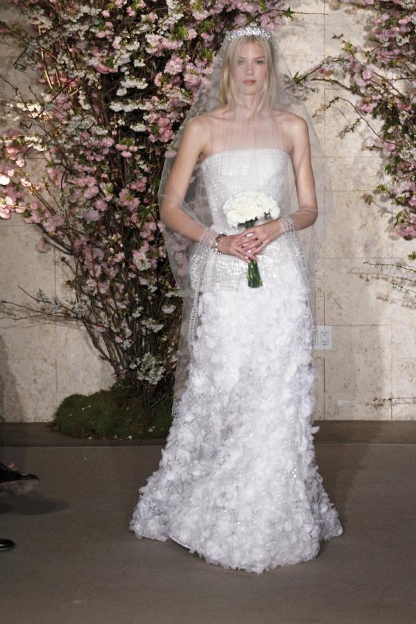 oscar de la renta spring 2012 bridal collection 23 picnik New York Bridal Week Spring 2012: Oscar de la Renta
