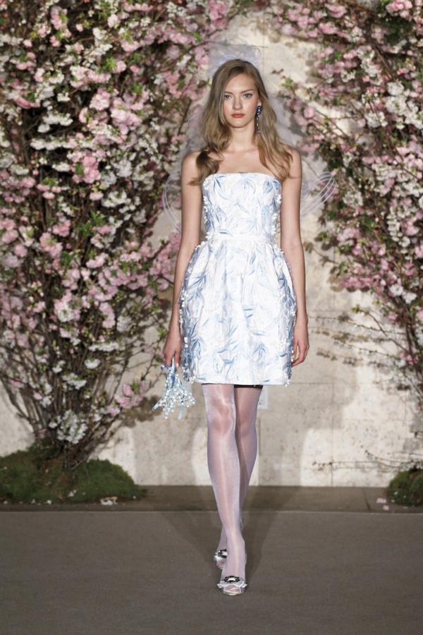 oscar de la renta spring 2012 bridal collection 2 picnik New York Bridal Week Spring 2012: Oscar de la Renta