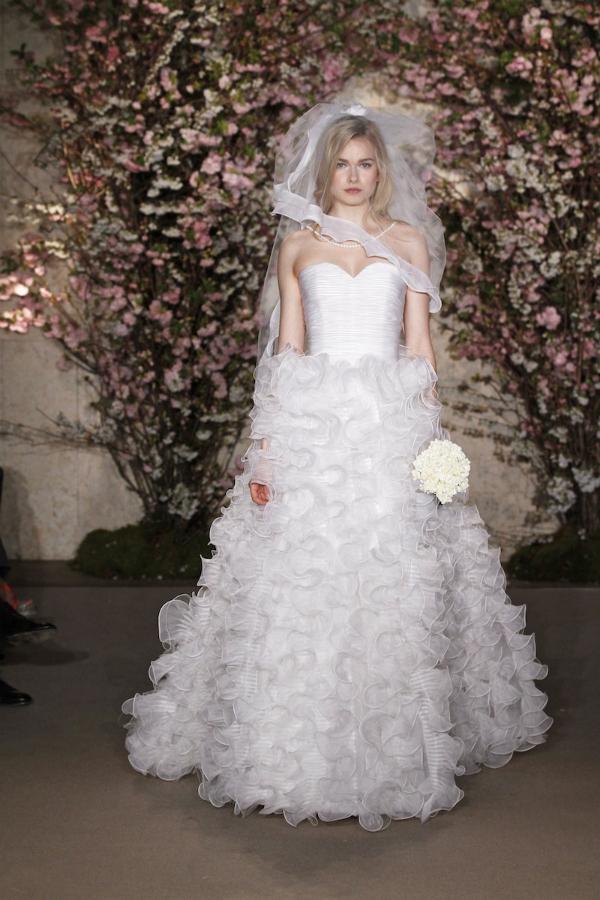 oscar de la renta spring 2012 bridal collection 31 picnik New York Bridal Week Spring 2012: Oscar de la Renta