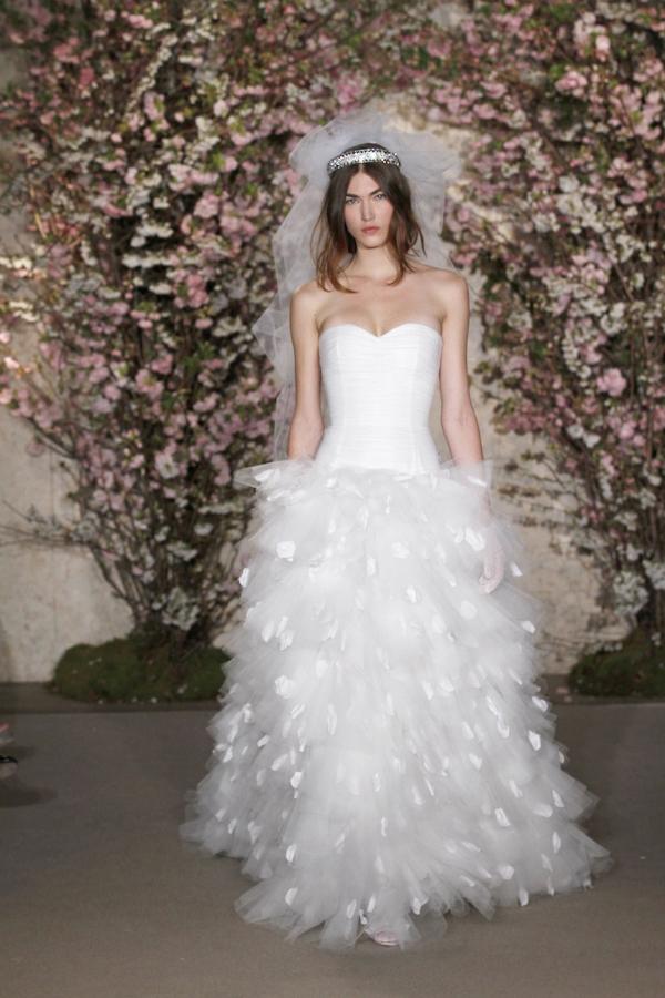 oscar de la renta spring 2012 bridal collection 37 picnik New York Bridal Week Spring 2012: Oscar de la Renta