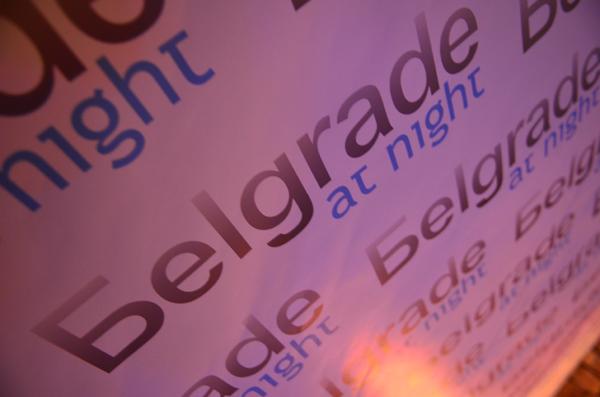 tbv 9669 Osmi rođendan klubskog servisa Belgrade at night