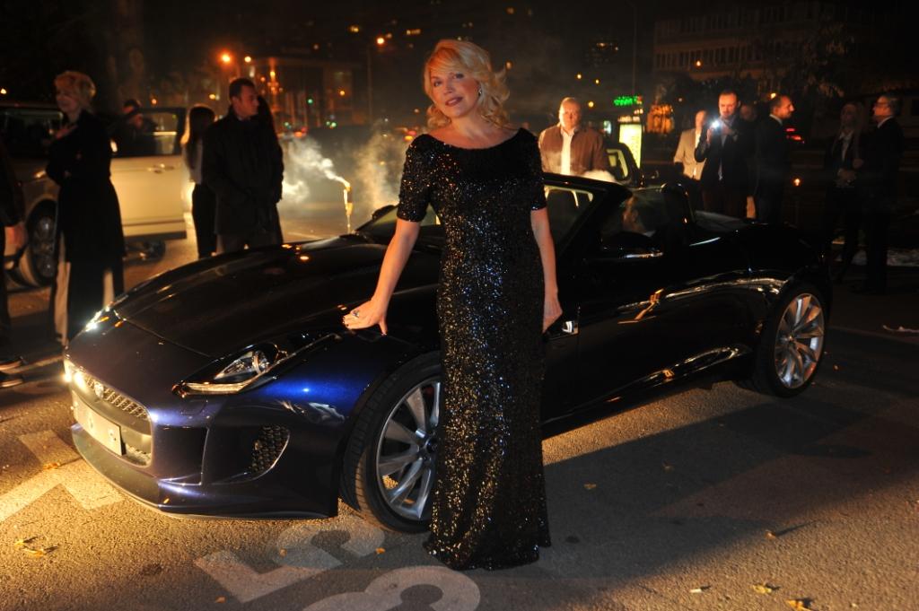 suzana mancic Otvoren ekskluzivni Land Rover i Jaguar salon u Beogradu