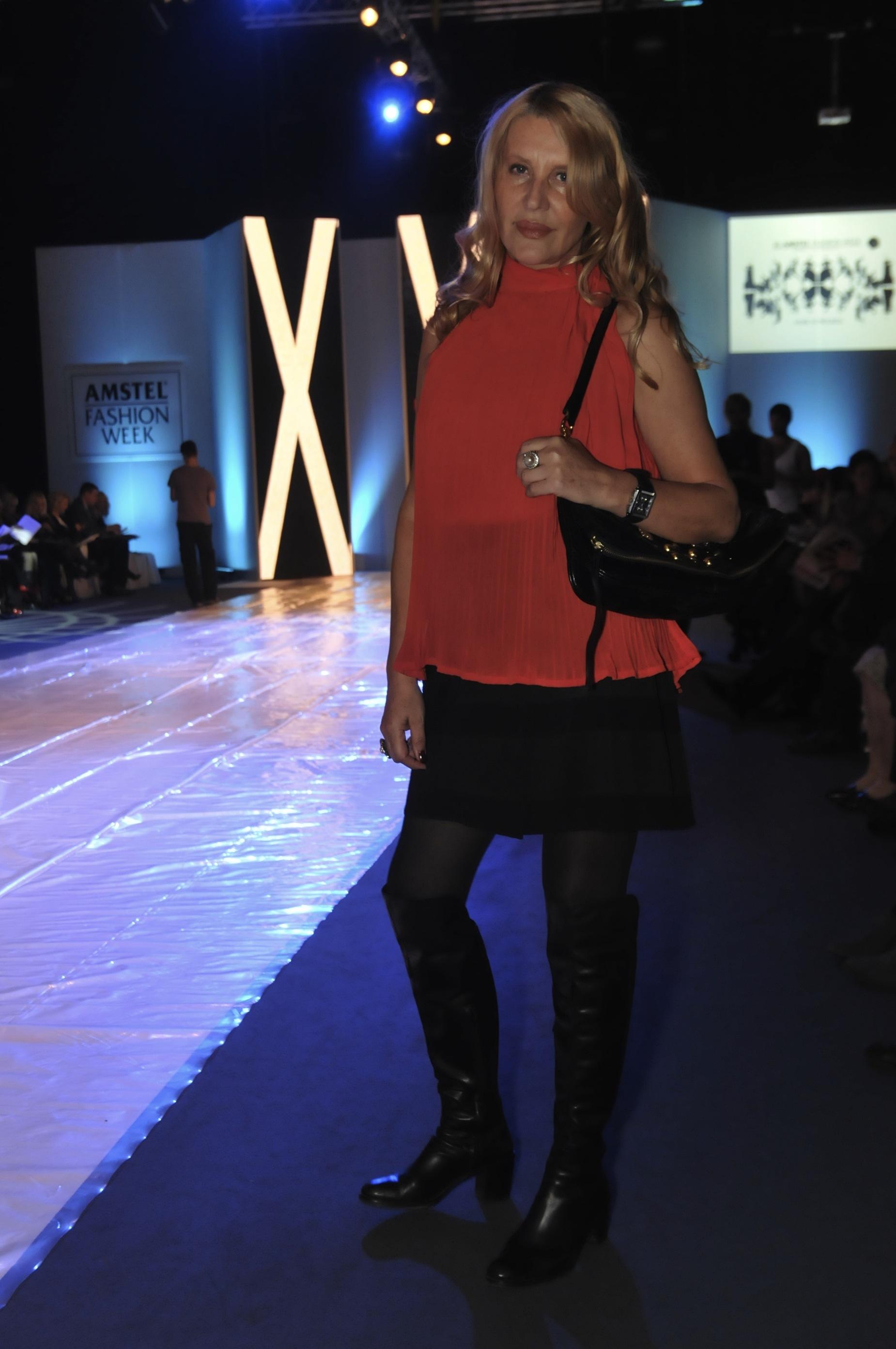 verica rakocevic Peto veče 30.Amstel Fashion Week a