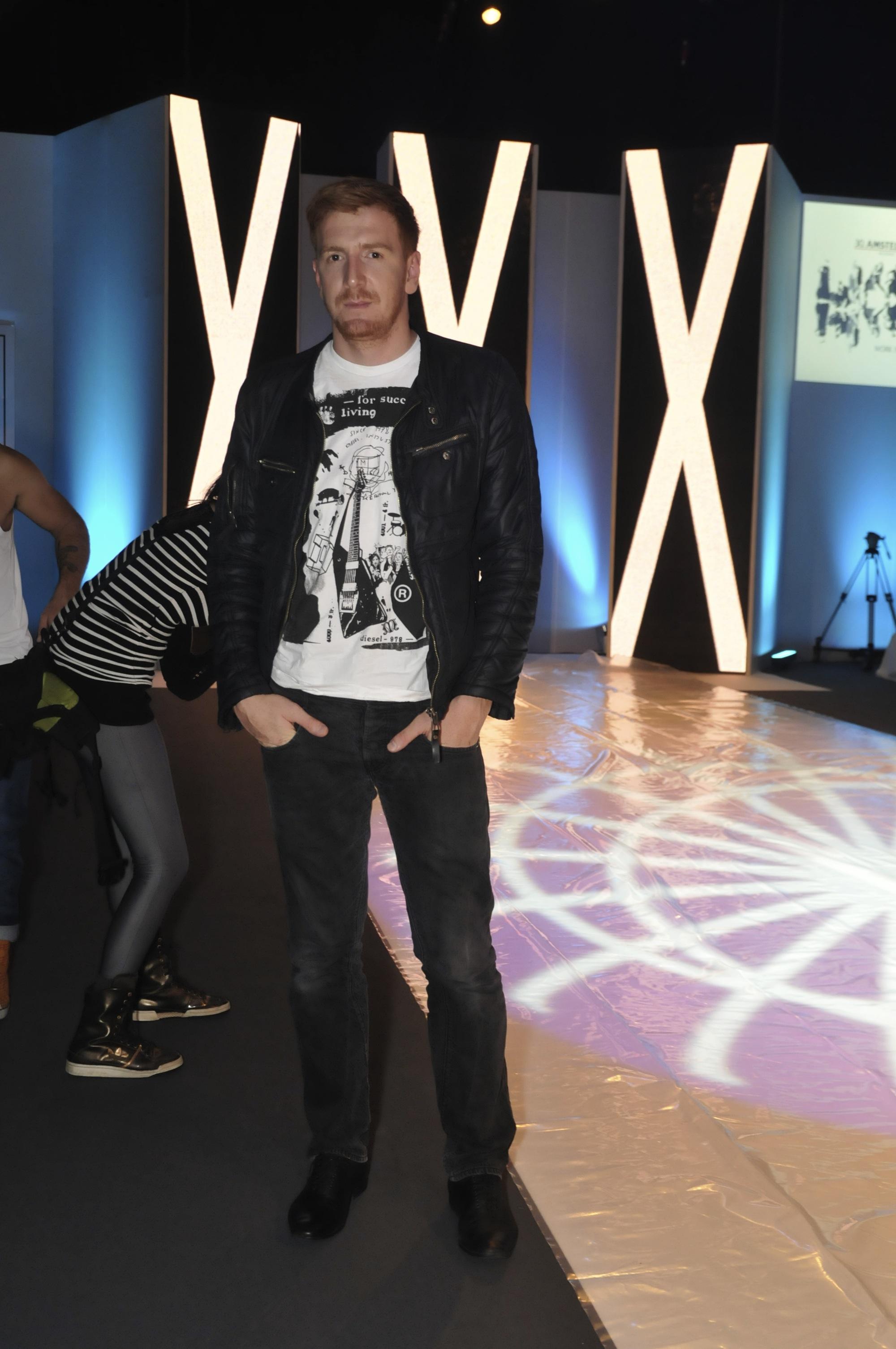 vladimir aleksic Peto veče 30.Amstel Fashion Week a