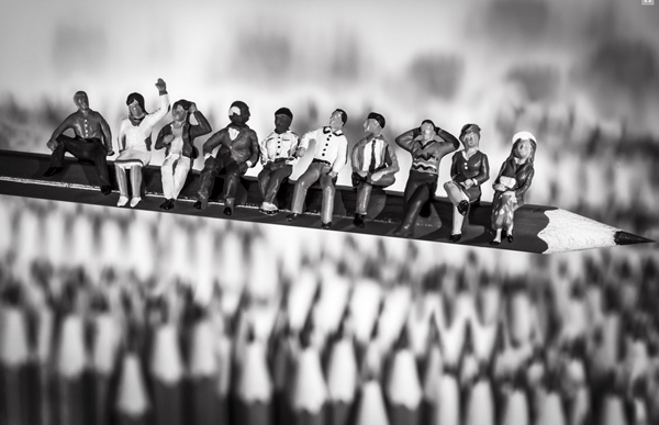 """galerija 2 """"Plastični život"""": Vincent Bousserez"""