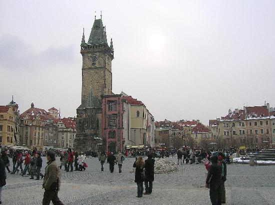 galerija 3 Trk na trg: Staroměstské náměstí, Prag