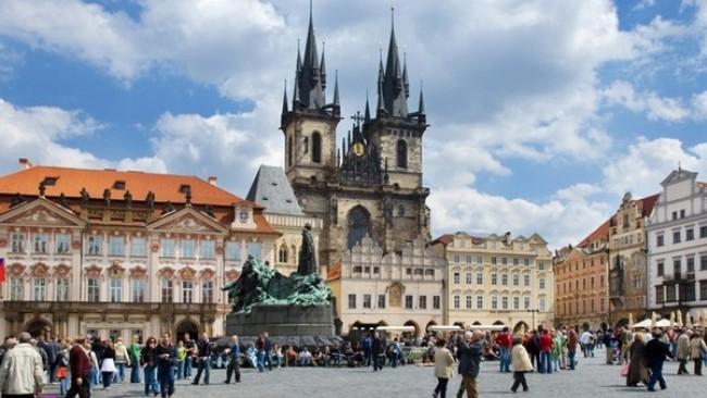 galerija 4 Trk na trg: Staroměstské náměstí, Prag